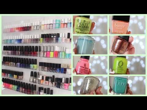 Collection rangement vernis youtube - Rangement vernis mural ...