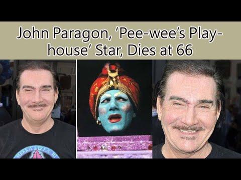 John Paragon, 'Elvira' writer and genie on 'Pee-wee's Playhouse ...