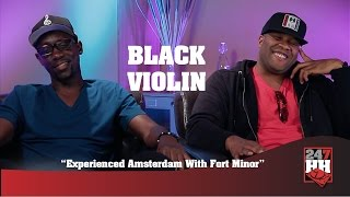 Black Violin - Experienced Amsterdam With Fort Minor (247HH Wild Tour Stories)
