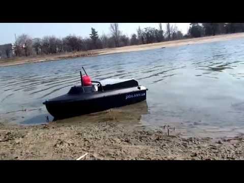 кораблик для завоза снастей и прикормки олх