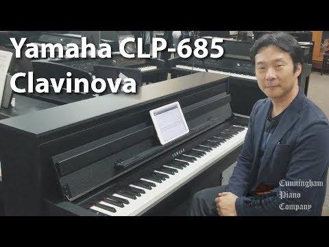 Yamaha CLP 685 Clavinova | Cunningham Piano Co
