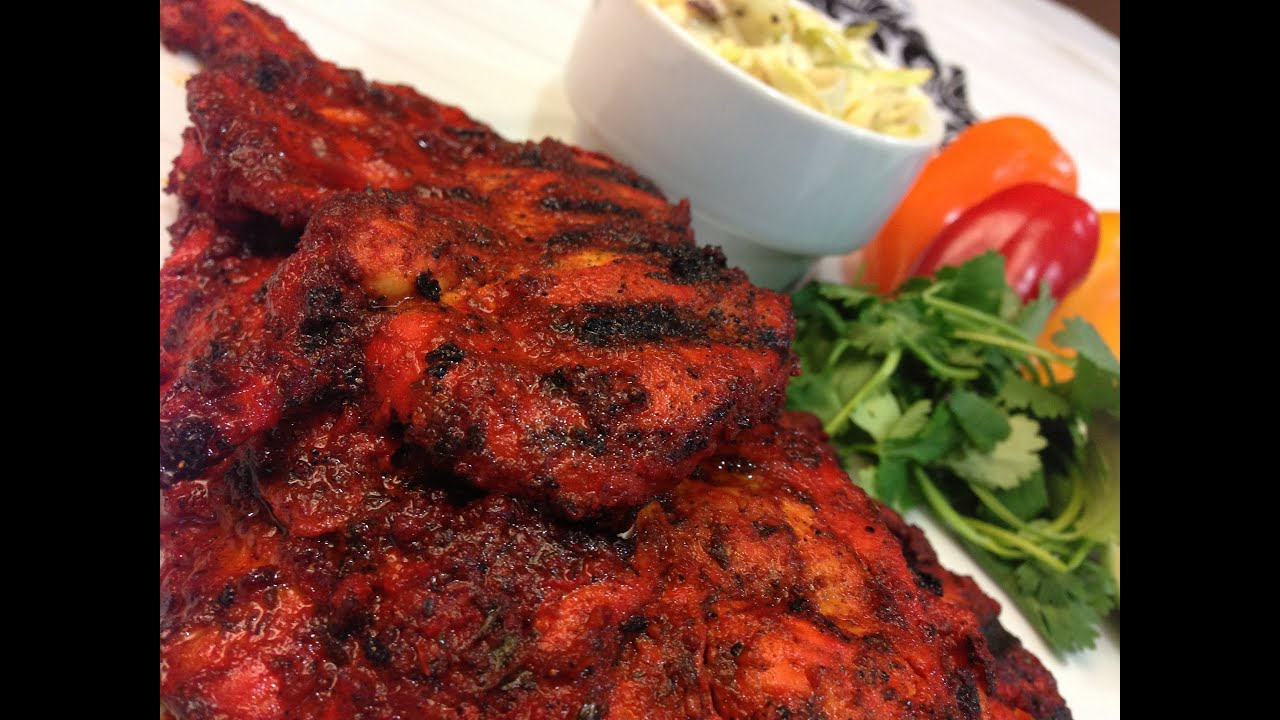 Tandoori Pork On The Outdoor Grill Recipe — Dishmaps