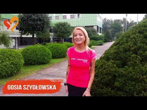 Gosia Szydłowska zaprasza na bieg Gdańsk Business Run 2017