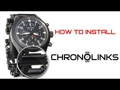 How to Install ChronoLinks Watch Adapters onto a Leatherman Tread Multi-Tool