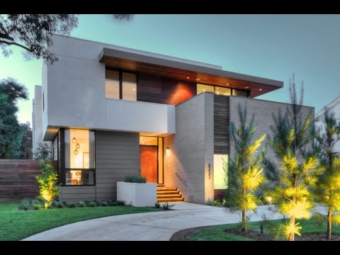 Modern house design with contemporary point of view in for Modern triplex house designs