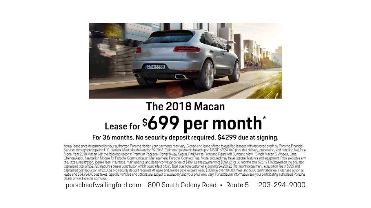 Porsche Of Wallingford >> Test Drive A Porsche Macan At Porsche Of Wallingford Youtube