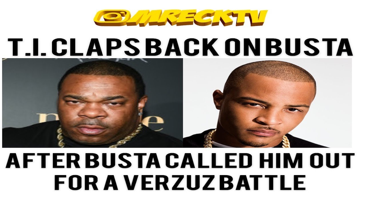 T.I. Claps Back At Busta Rhymes Calling Him Out In A Verzuz Battle|Female Callers Goes Off On T.I.