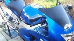 Kawasaki Ninja ZX9R viper Titanium exhaust sound t