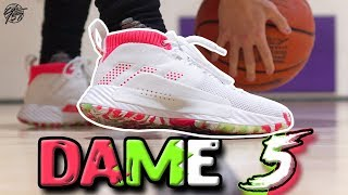 Adidas DAME 5 Performance Review! - YouTube