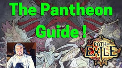 [Beginnner's Guide] The Pantheon Guide on POE ! All about it