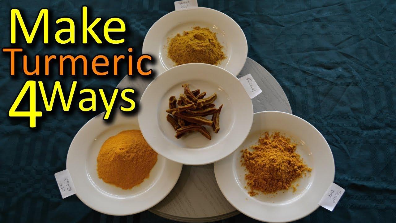 how to eat turmeric powder raw