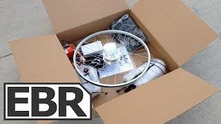 Leed Pocket Bike Juice Video Review - Ultra Light Weight Electric Bike Kit PBJ