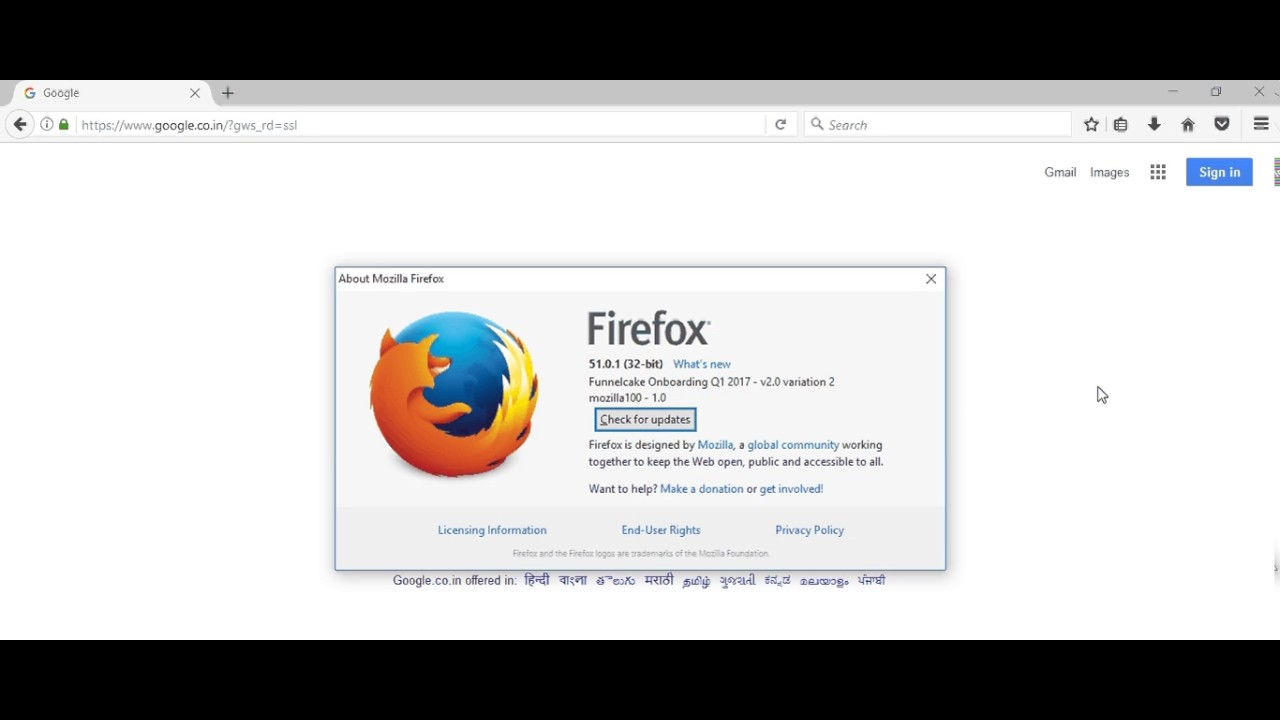 Mozilla Version check, How to update firefox, Mozilla firefox,how know  firefox version
