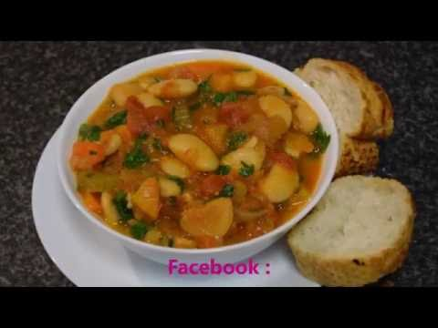 How to make Cypriot Fasolia beans (fasoli, Fasolada, gigante beans) VEGETARIAN