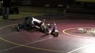 Wrestling Power Pin Dylan Gray Hereford High School Match