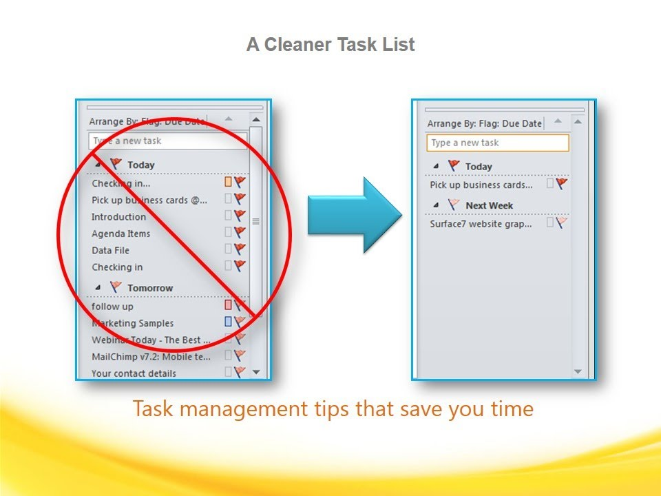 How to De-Clutter Your Task List in Microsoft Outlook - Guru Series