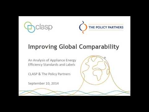 Improving Global Comparability of Appliance Energy Efficiency Standards and Labels
