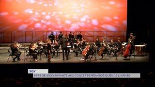 Yvelines | SQY : Près de 4000 enfants aux concerts pédagogiques de l'APMSQ