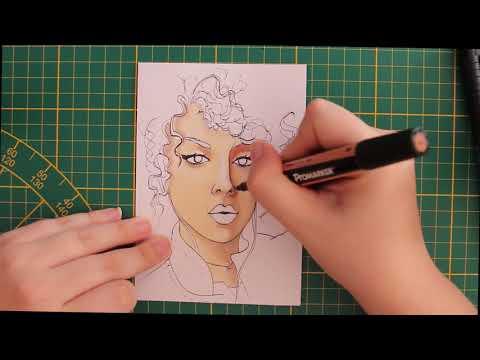Je dessine #1 SHERA KERIENSKI avec des feutres à alcool