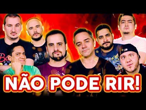 NÃO PODE RIR! com Rogério Vilela, Dihh Lopes, André Santi e Rodrigo Cáceres
