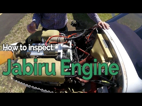 Jabiru Engine Inspection and Overview