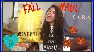 Fall Haul 2014 | Forever 21, Zara, & more Thumbnail