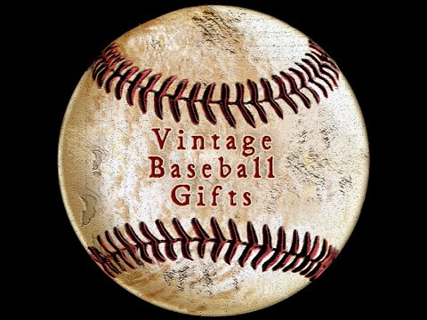 Vintage Baseball Gifts For Men And Boys