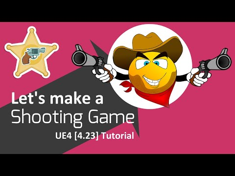 UE4 [4.23] - Shooting Game Tutorial (Part 2) - Character Basic Animation thumbnail