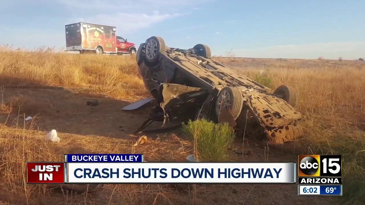 Man hospitalized after Buckeye Valley crash - YouTube