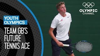 Toby Samuel: Team GB's Future Tennis Ace! | Youth Olympic Games