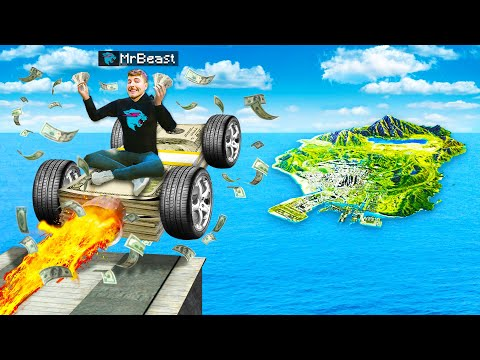 Jumping YOUTUBER CARS Across ENTIRE MAP In GTA 5! (Mods)