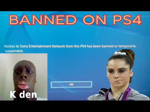 SONY CONSOLE BANNED ME ON PS4!!! (Rant Video - Read Pinned Comment For Update)