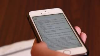 6. ¿CÓMO USA UNA PERSONA CIEGA UN TELÉFONO MÓVIL?