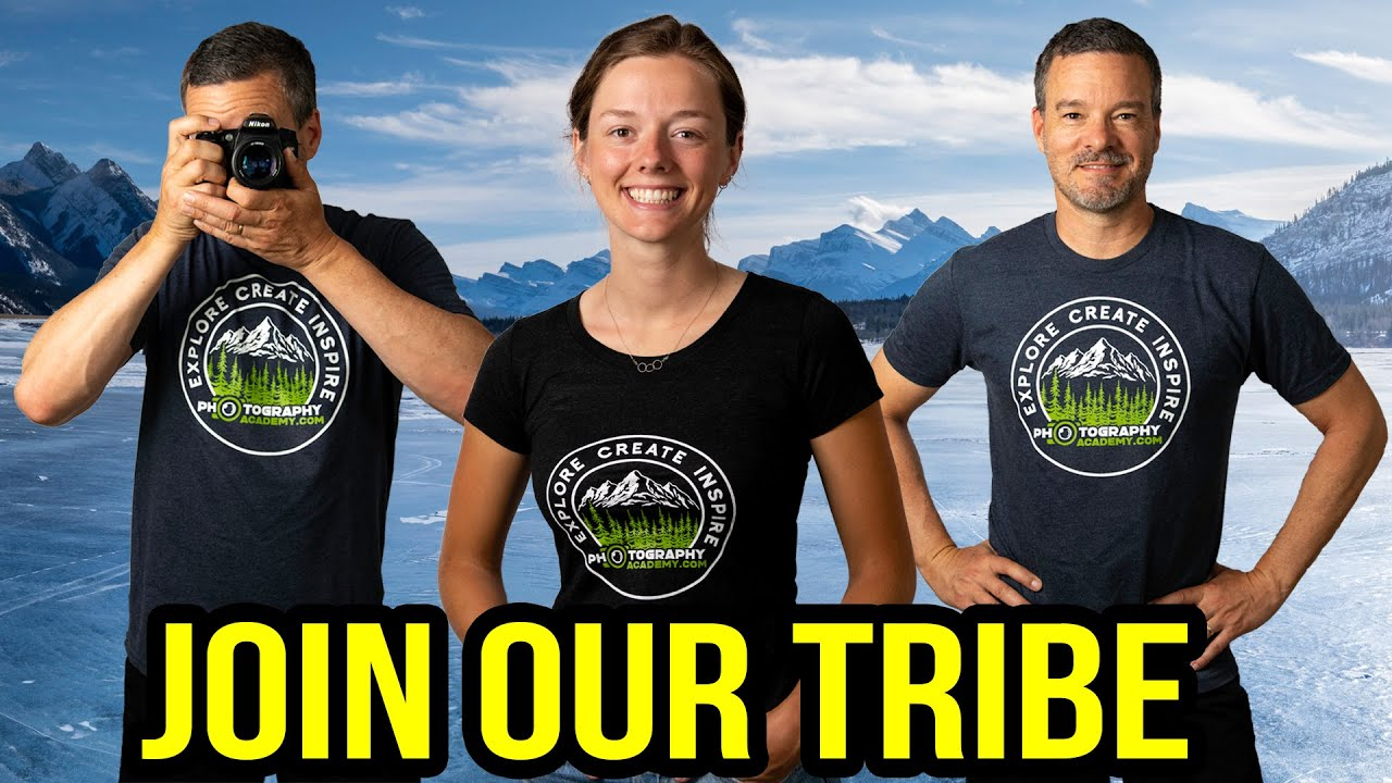 Join the Photography Academy tribe!  Get your t-shirt!