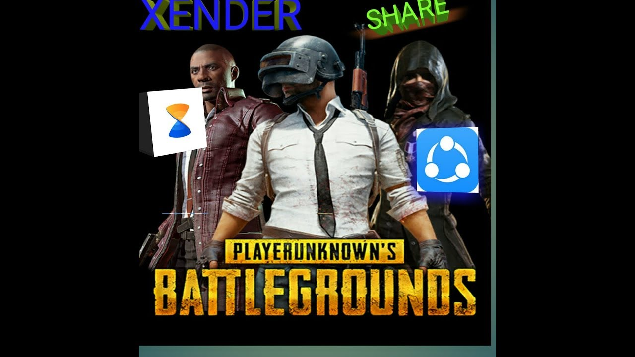 HOW TO SHARE PUBG THROUGH XENDER SHAREIT AND OTHER APPS