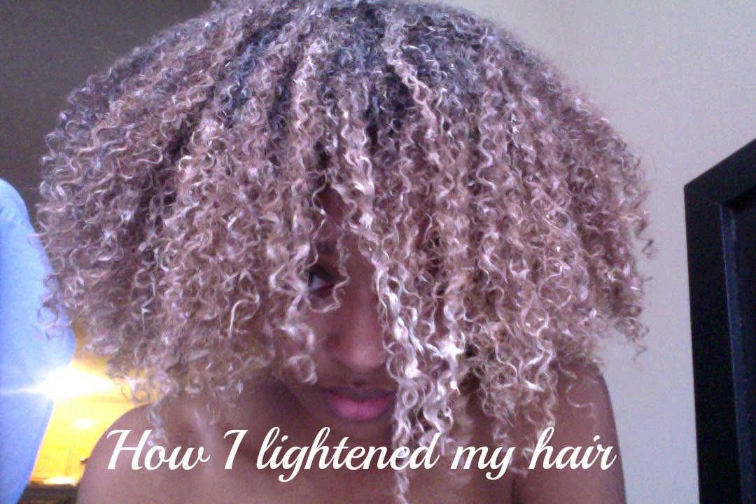 How I Lightened My Hair Using Baking Soda Peroxide Honey