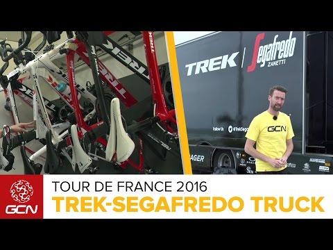 Trek-Segafredo Truck Tour