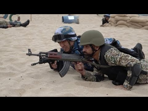 Chinese, Pakistani Troops Coordinate in Joint Drill