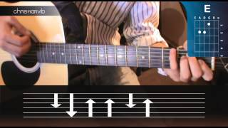 "Cómo tocar ""Tu Mirada"" de Reik en Guitarra (HD) Tutorial Acordes - Christianvib"