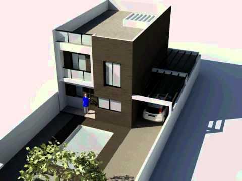 Vivienda unifamiliar and jar 120 m2 youtube for Disenos de casas 120 m2