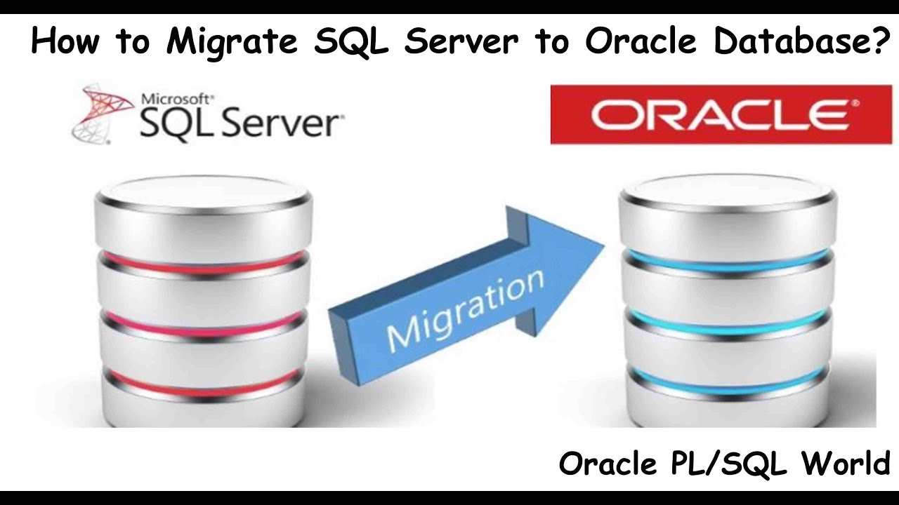 How to Migrate SQL Server Database to Oracle using Oracle SQL Developer