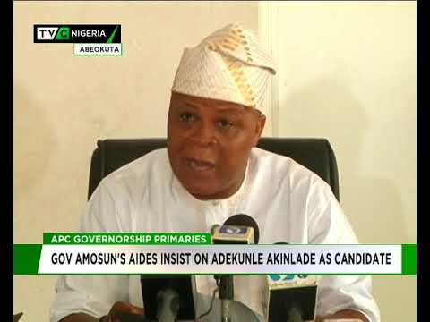 Image result for Amosun's aides insist on Akinlade as APC guber candidate