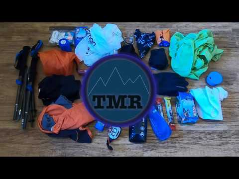 Ultramarathon Mandatory Kit - Packing Race Gear