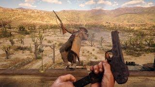 Red Dead Redemption 2 PC 60FPS - First Person Gameplay Vol. 30 (Euphoria Ragdolls)