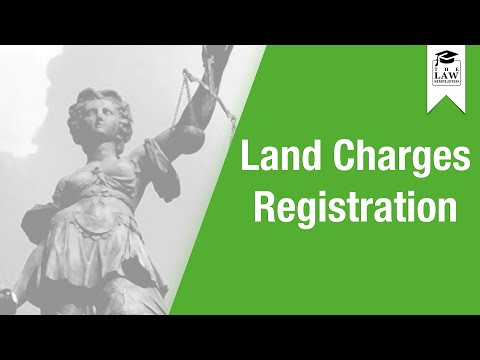 Property Law - Land Charges Registration
