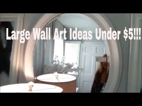wall-decor-ideas-under-5-bucks!!!-|-wall-art-dollar-store-diy