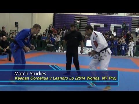 BJJ Scout: Match Studies - Leandro Lo v Keenan Cornelius - Worm Guard vs Active Posting