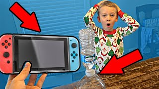 Land a Bottle Flip, Win Nintendo Switch | Colin Amazing