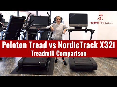 Peloton Tread vs NordicTrack X32i Incline Treadmill