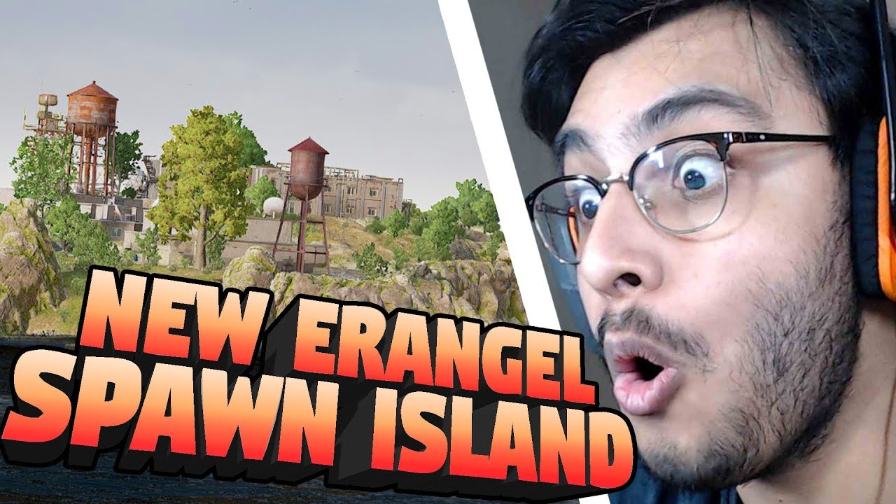 NEW ERANGEL SPAWN ISLAND | PUBG PC NEW UPDATE | RAWKNEE
